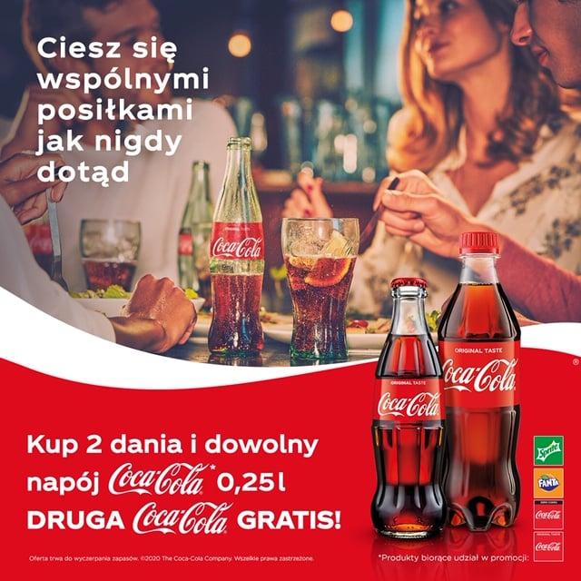 CocaCola  Nowa promocja w Restauracji u Zosi w Szczawnicy. #szczawnica #restauracjaszczawnica #pizzaszczawnica